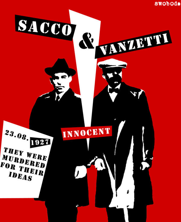 Sacco and Vanzetti by Swoboda