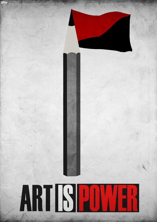 Art is power by Swoboda