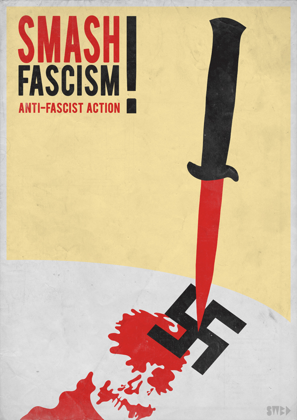Smash Fascism by Swoboda