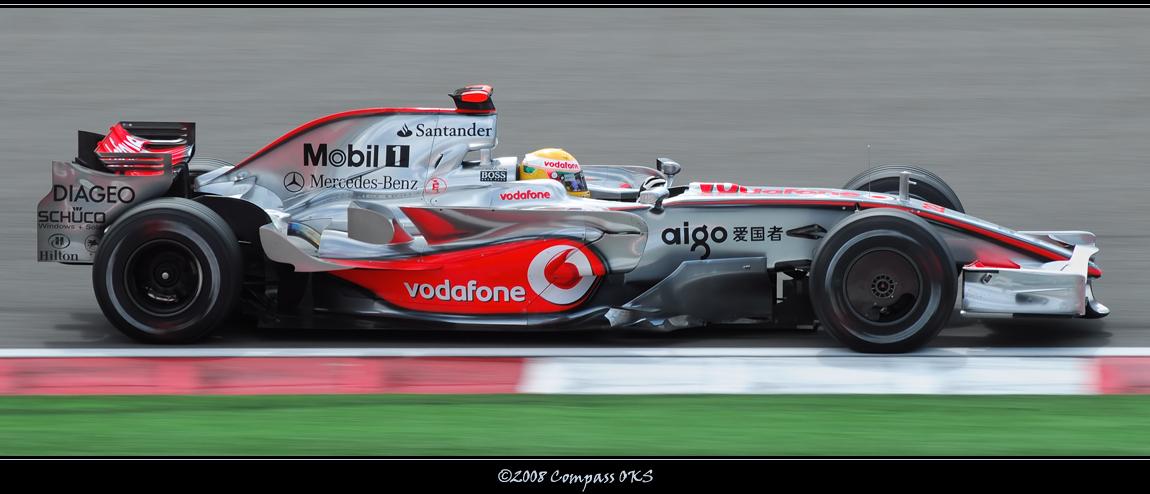 McLaren - Lewis Hamilton by CompassTR