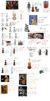 Guide on cellos (and hoofs)