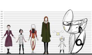 Character height sheet