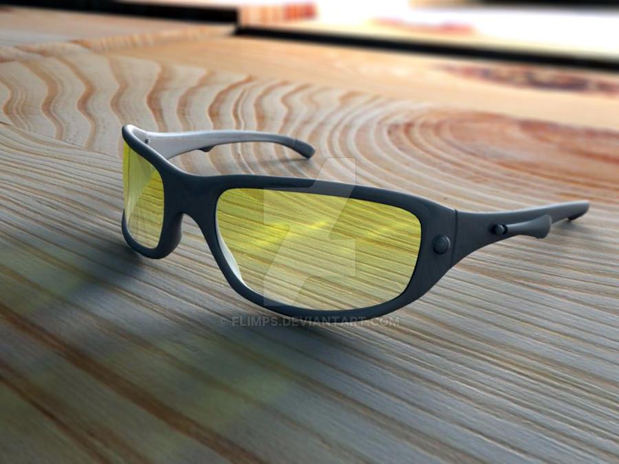 3D glasses by flimps