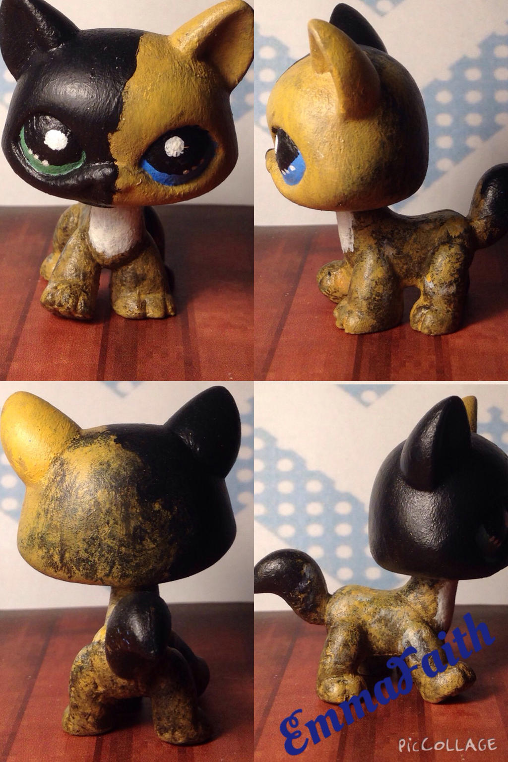 Lps Custom Venus The Two Faced Cat By EmmaFaithW On DeviantArt - Venus two faced cat