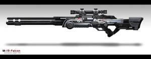 M-19 sniper rifle