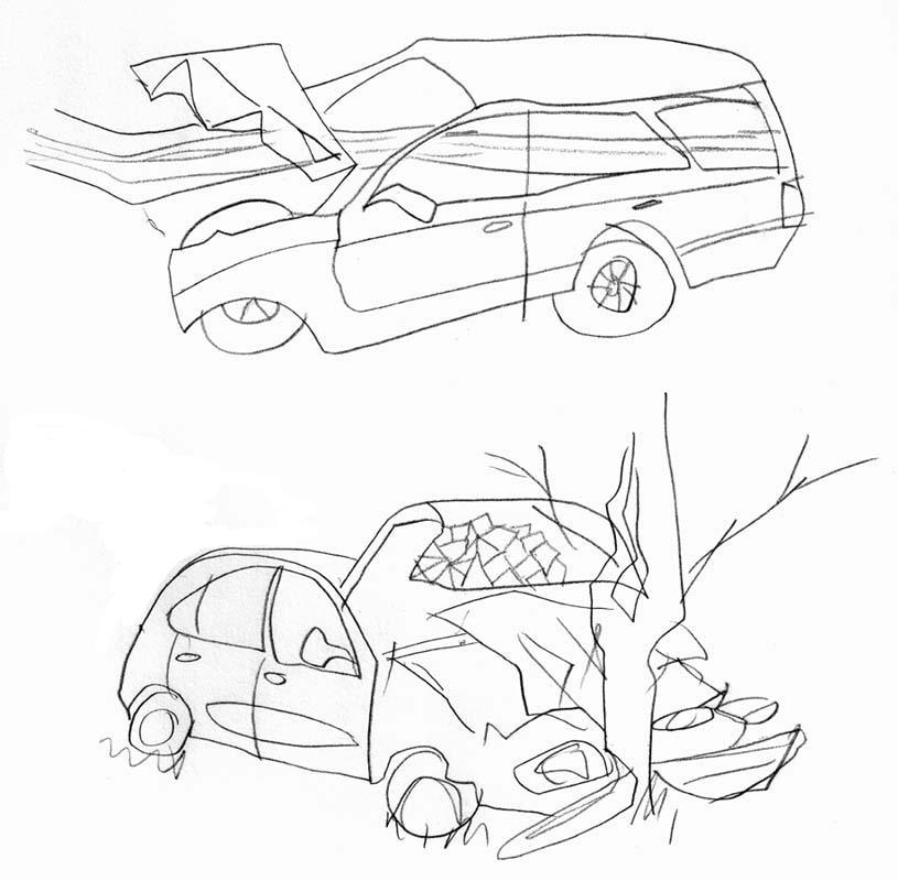 car crash by kidvelociraptor on DeviantArt