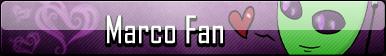 Marco Fan Button by HalfInane-HalfMental