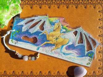 Commission - Eirwen Bookmark 2/2 by AndromedasWitchery