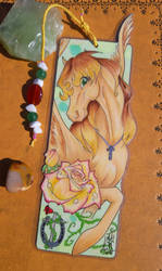 DarkHorseKC Bookmark - Commission 2/4 by AndromedasWitchery