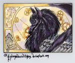 Lenwe #77 ACEO - Comm by AndromedasWitchery