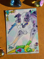 Toooy!!!! ACEO by AndromedasWitchery