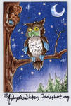 COWLvid 19 ATC 161 (SOLD) by AndromedasWitchery