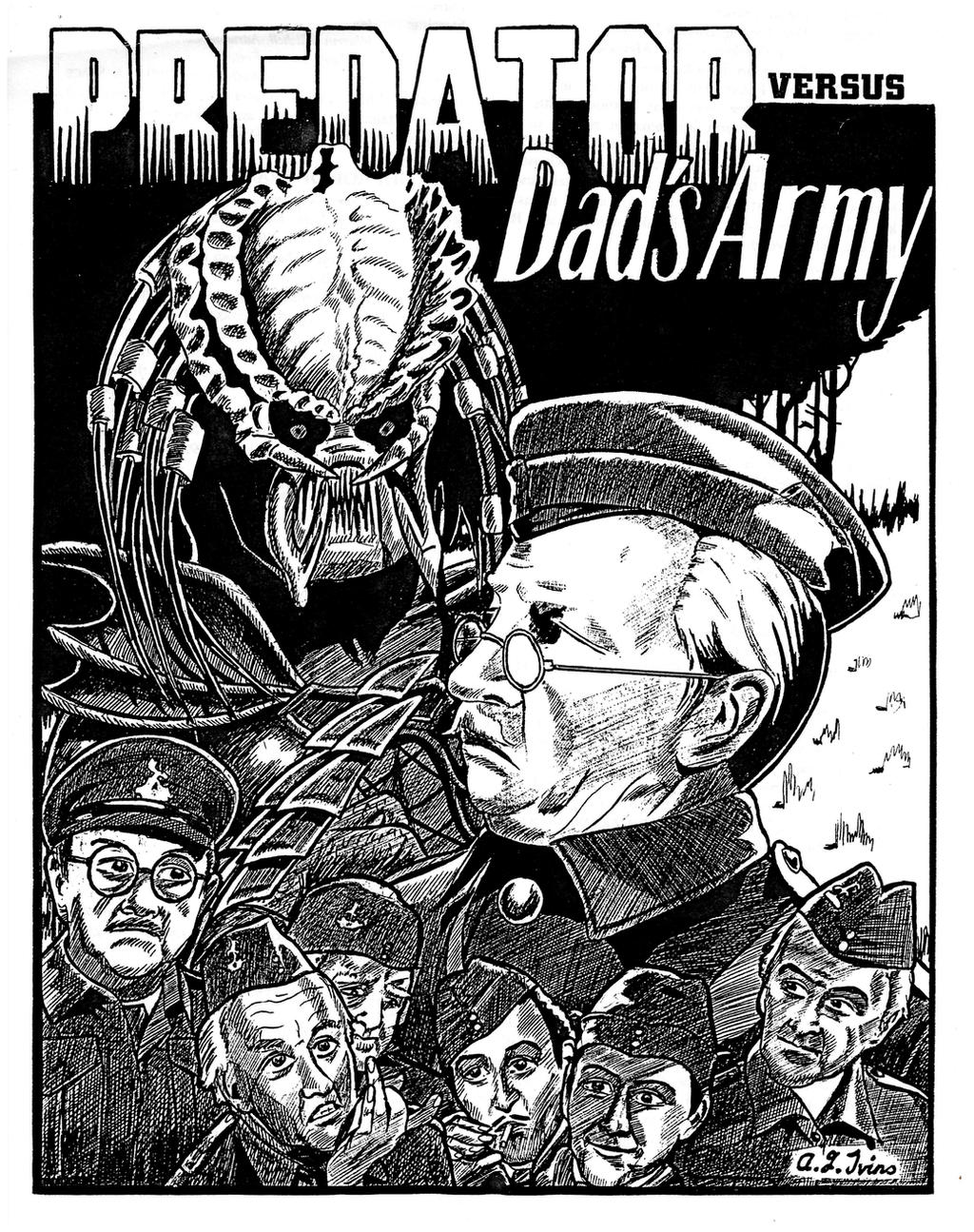 Predator Versus Dad's Army by studentofthevoid