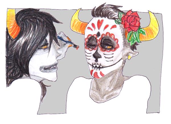 dia de los muertos by Dreadelion