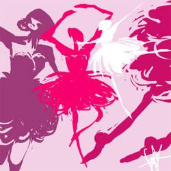 ballerinas by Dreadelion