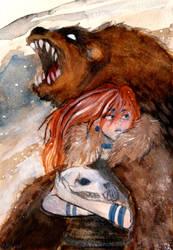 beary nice to meet u by Dreadelion