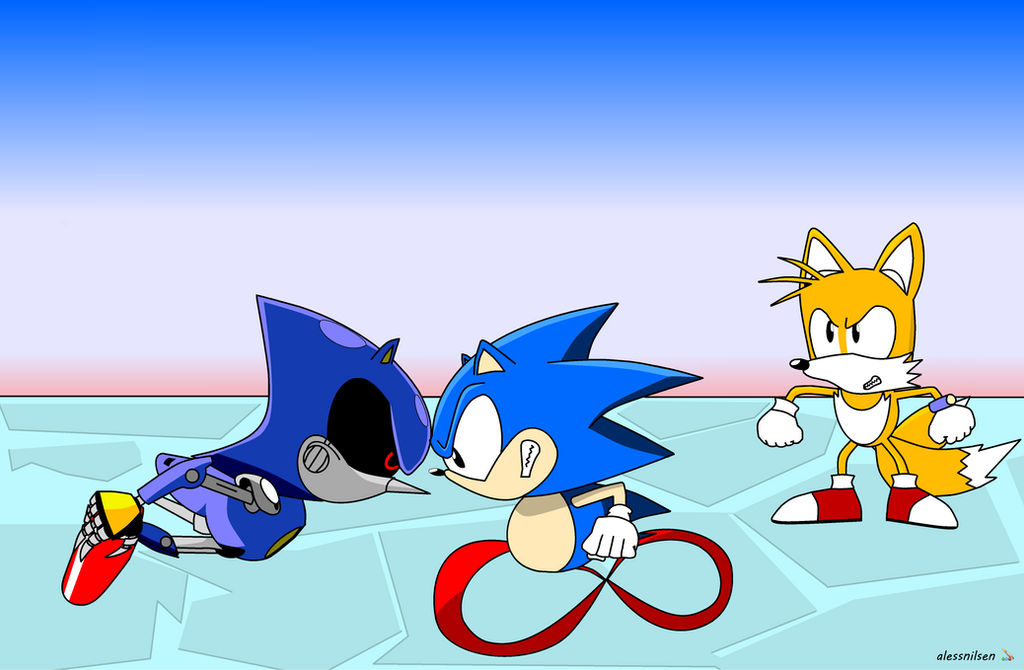 Sonic Metal Tails Sonic Ova Style By Alessnilsen On Deviantart
