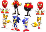 sonic through the years part 3