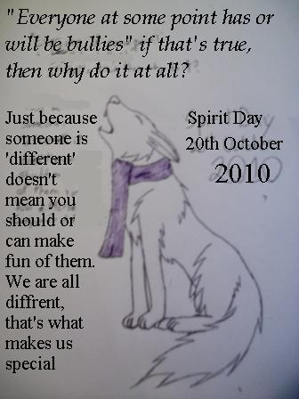 Spirit Day 2010 by shiro-chan63