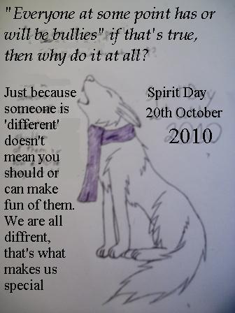 Spirit Day 2010 by shiro-chan63