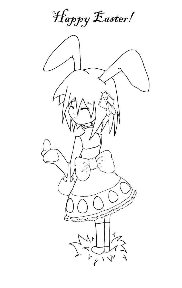 Line Drawing Easter : Easter line drawing by italktotherain on deviantart
