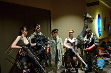 Quiet - Metal Gear Solid V - Colossalcon 2015 by italktotherain