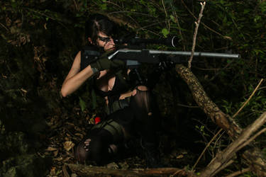 Quiet - Metal Gear Solid V by italktotherain