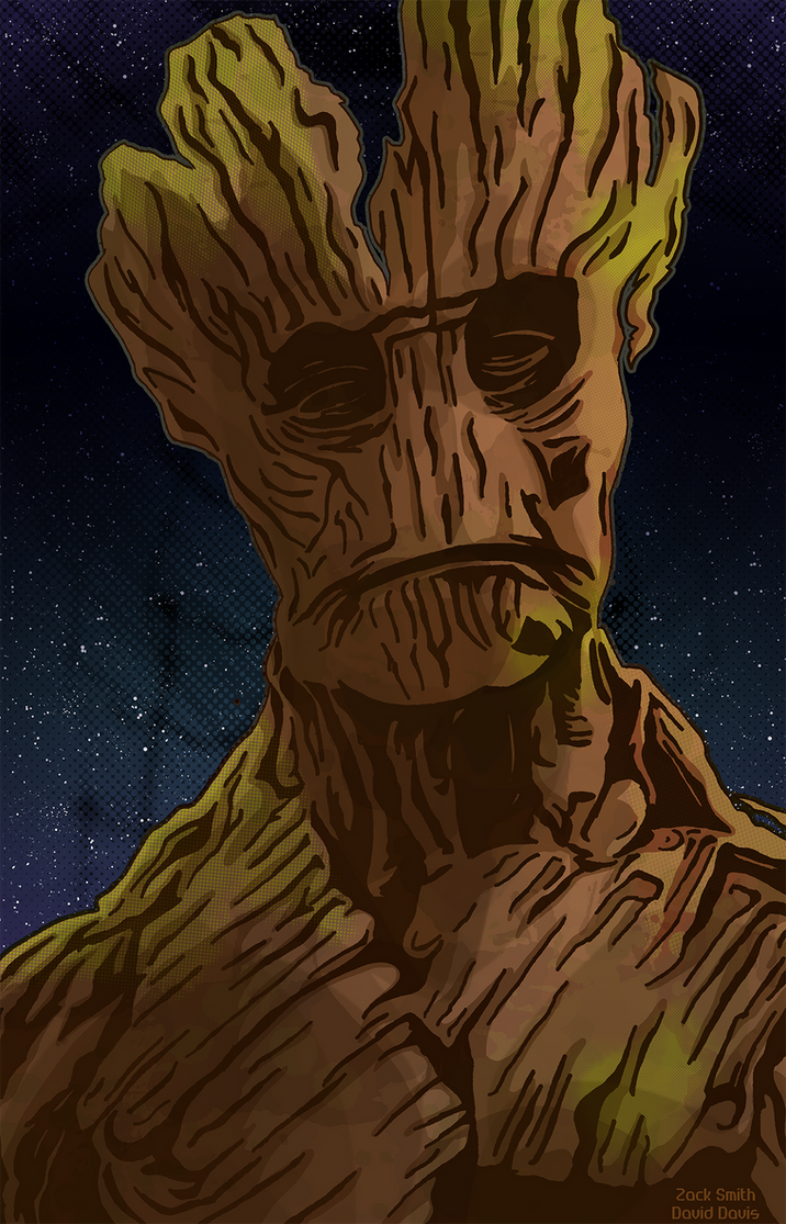 Groot Collab by hpkomic