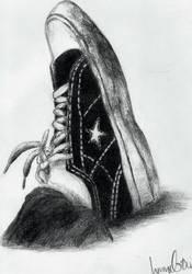 Monochrome Converse