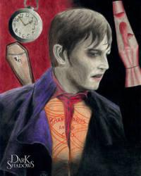 Barnabas Collins Colored Pencil Art