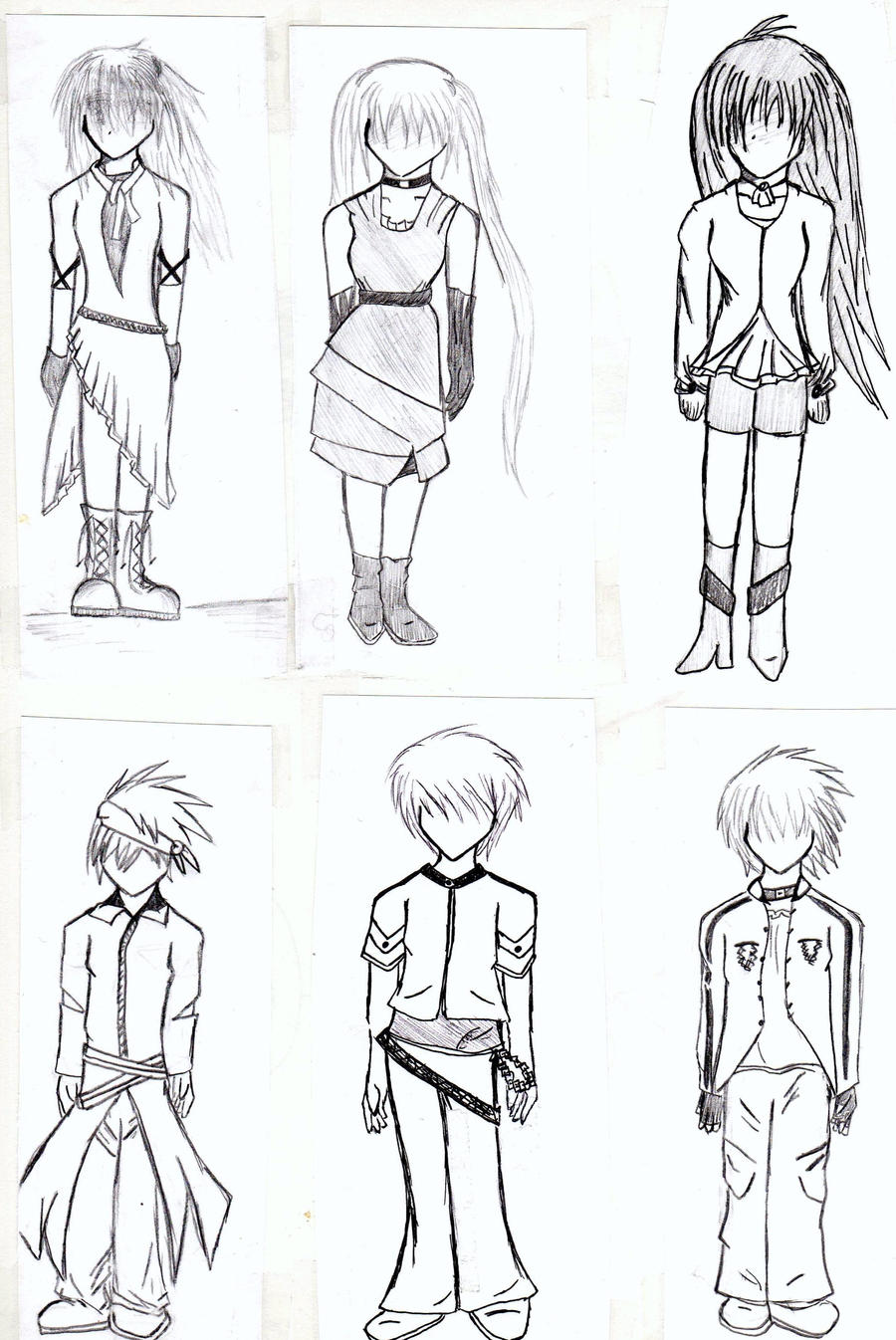 Clothing Designs by YukiShizuka on DeviantArt