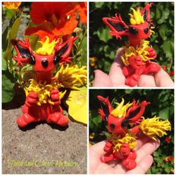 Flareon Dragonsona by Mymonkeysocks