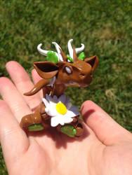 Garden Hatchling with a Daisy by Mymonkeysocks