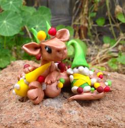 Garden Hatchling with Gnomies by Mymonkeysocks
