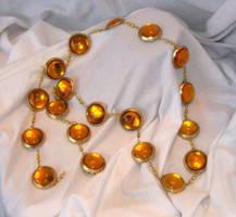 Sailor Venus jeweled belt by MayuriMoon