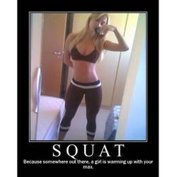 Squat-girl by Iczerman