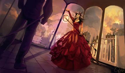 The Dark Sorceress by tallison