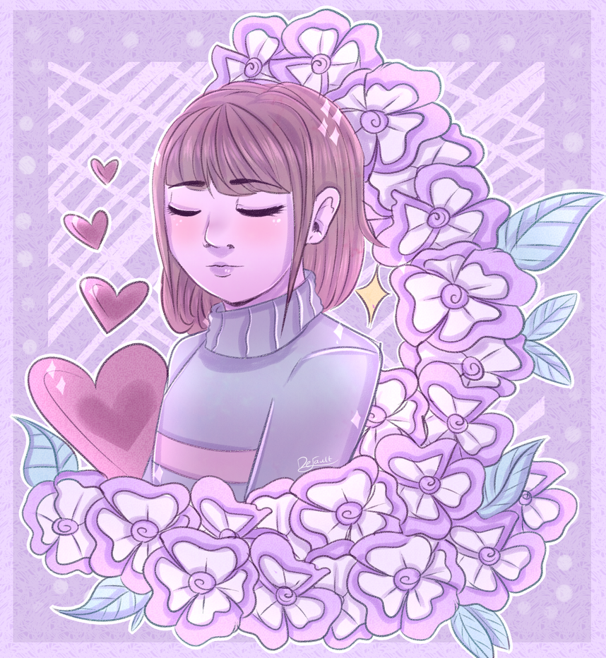 Frisk and flowers~ by Antimentalist