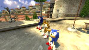 Sonic Generations 2 cutscene screenshot by EpicScorz