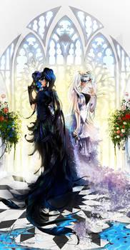 Miku Hatsune and Zatsune