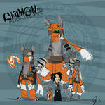 Rail and Digimon