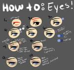 How To:  Basic Eyes