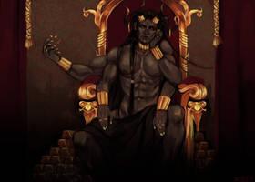 Greed - Throne by Athrennn
