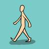 Animation: Walk Cycle 1 by blueToaster