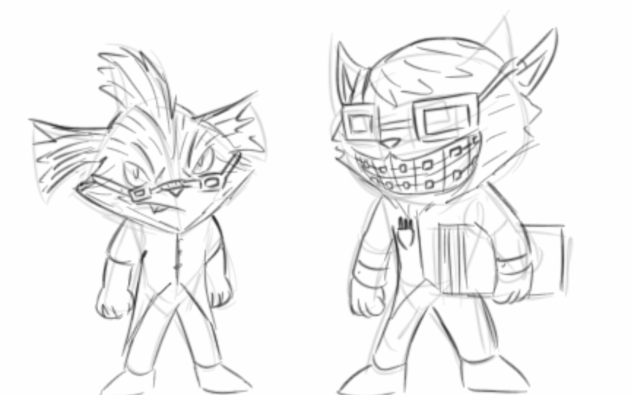 league of legends rumble coloring pages | League of Legends Sketch-Rumble and Ziggs by ...