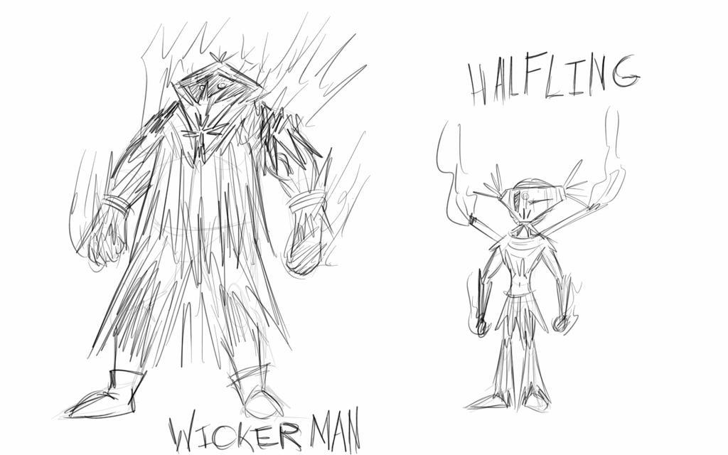 Pathfinder Character Sketch-More Sorcerer Designs by JackieTeJackal
