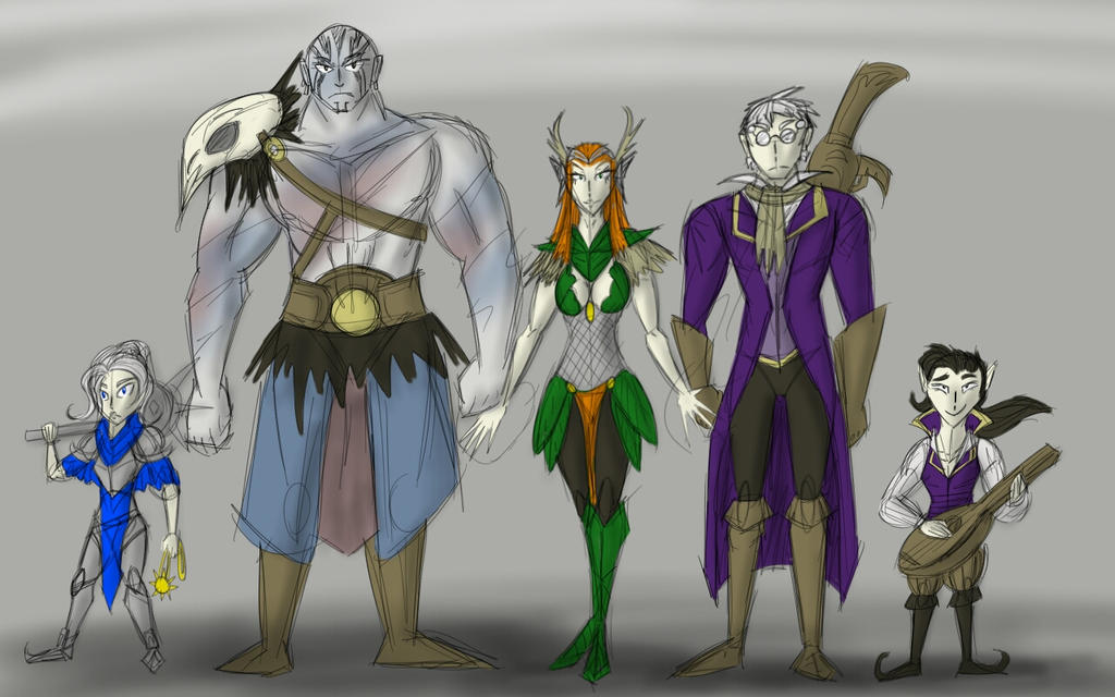 Critical Role Fan Art Characters Part 1 By Jackietejackal On Deviantart If you'd like to submit your art for the gallery on our site or for the art sizzle reel that plays before critical role (and. critical role fan art characters part