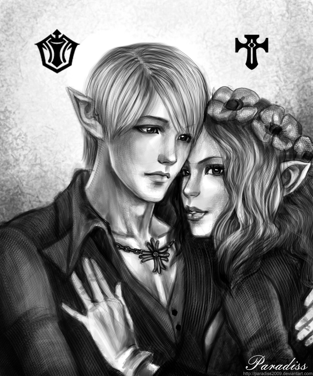 TERA couple by Paradiss2009