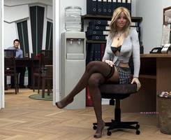 Secretary of the Year... by mayaortiz