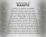 PROLOGUE: MONOLOGUE OF MANITO